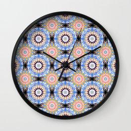 Ethnic Oriental ornament .1 Wall Clock