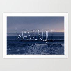Wanderlust Ocean Art Print