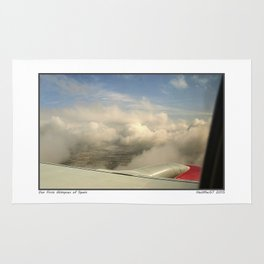 Just through the clouds Rug