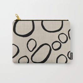 Daisy Circles Carry-All Pouch