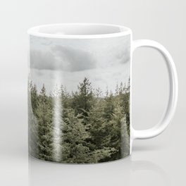 Dutch Forest Tree Tops | Colourful Travel Photography | Veluwe, Holland (The Netherlands) Coffee Mug