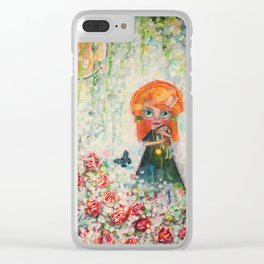 The Secret Garden Clear iPhone Case