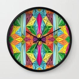 Lisergic Diamonds Wall Clock