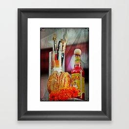 Alms Framed Art Print