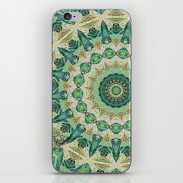 Luna Moth Kaleidoscope iPhone Skin