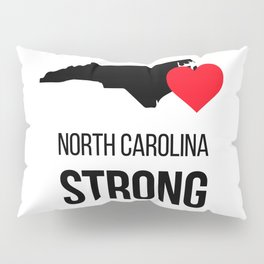 North Carolina strong / Hurricane season Pillow Sham