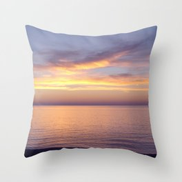 Awesome Afterglow Throw Pillow