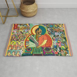 Life of Buddha - 7. Enlightenment and teaching  Rug