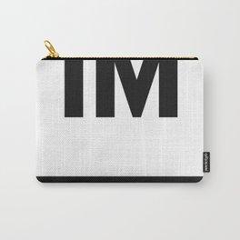 1 MILLION Dance Studio Logo (White Version) Carry-All Pouch