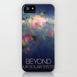 Solar System and Beyond: Nebula iPhone Case
