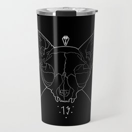 Black Lucky 13 Travel Mug