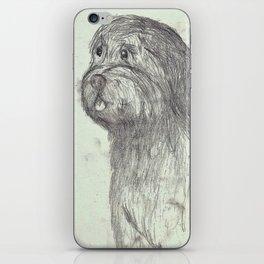 Scruffy Dog iPhone Skin