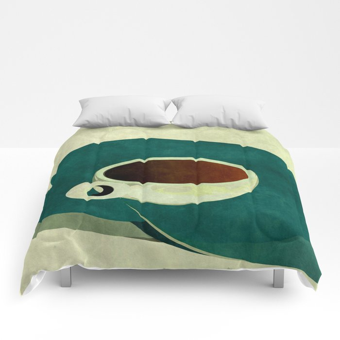 French Roast Coffee Comforters