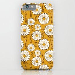 Harry Sunflower Shirt Flower Print Hippie Pop Art Floral Pattern iPhone Case