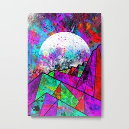 As a new planet is born Metal Print