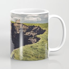 Irish Sea Cliffs Coffee Mug