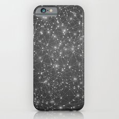 Logic Will Get You From Point A to Point B (Geometric Web/Constellations) Slim Case iPhone 6s