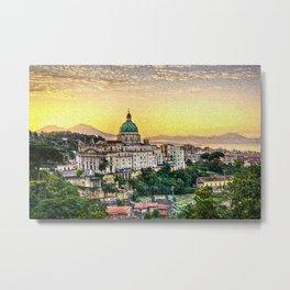 Naples, Italy Landscape Metal Print