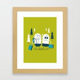 :::Excursion time::: Framed Art Print
