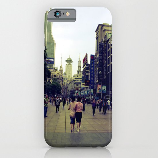 Walking Shanghai iPhone & iPod Case