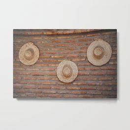 Hats, Hats, Hats Metal Print