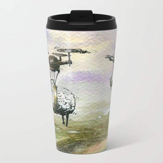 Self Determinism Metal Travel Mug