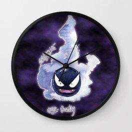 92 - Gastly Wall Clock