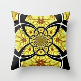 Writing A Poem With Art About Joy Throw Pillow