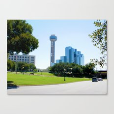 Reunion Tower, Dallas Canvas Print
