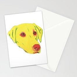 Yellow Labrador Stationery Cards