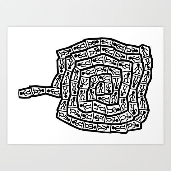 untitled 044 Art Print