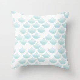 mermaid_sirena Throw Pillow