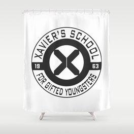 Xavier's School Shower Curtain
