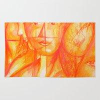 body Area & Throw Rugs featuring Body by Ricardo Patino