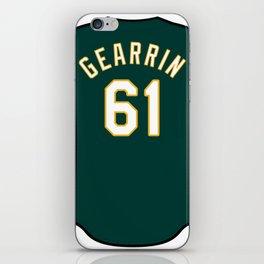 Cory Gearrin Jersey iPhone Skin