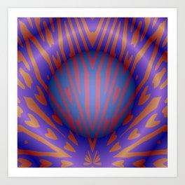 Bubble Burst Art Print