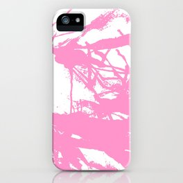 Pink Ink iPhone Case