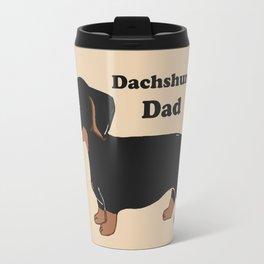 Dachshund Dad Travel Mug