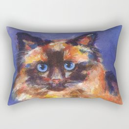 Beautiful Birman Rectangular Pillow
