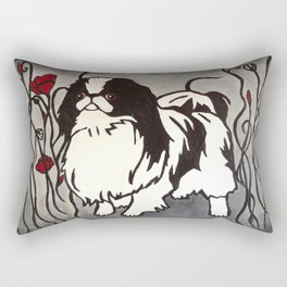 Poppy Chin Rectangular Pillow