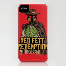 Red Fett Redemption Slim Case iPhone (4, 4s)