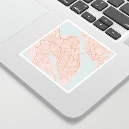 Halifax map, Canada Sticker