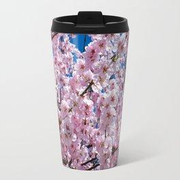 A Blossoming Japanese Cherry Tree Travel Mug