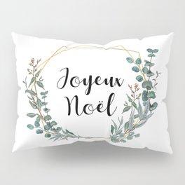 Noel Eucalyptus Geometric Wreath Pillow Sham