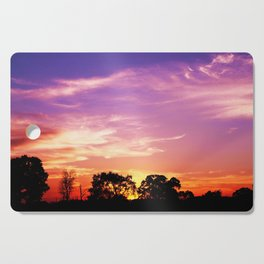 East Texas Sunset Cutting Board