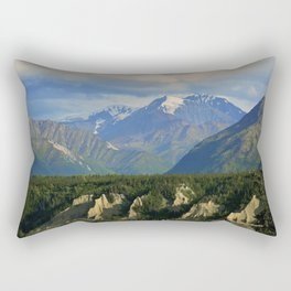 Northern Chugach Mountains Rectangular Pillow
