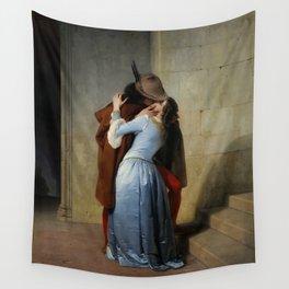 The Kiss (Il Bacio) - Francesco Hayez 1859 Wall Tapestry