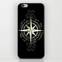 tolkien iPhone & iPod Skins featuring Not all those who wander are lost - J.R.R Tolkien by Augustinet