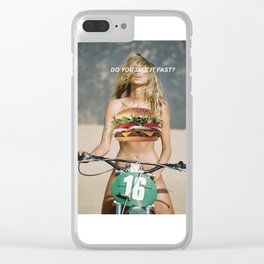 Do You Like It Fast? Clear iPhone Case