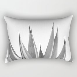 Gray Agave Dream #1 #tropical #decor #art #society6 Rectangular Pillow